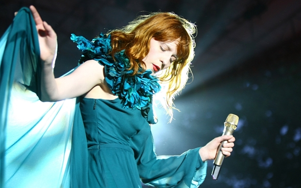 THE SONG #6. Florence Welch. No choir.